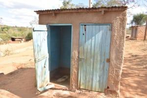 The Water Project: Kwa Kyelu Primary School -  Boys Latrines