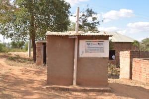 The Water Project: Kwa Kyelu Primary School -  Girls Vip Latrines