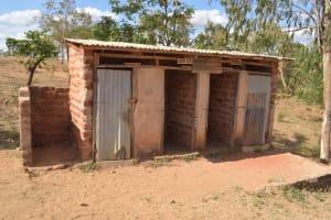 The Water Project: Kwa Kyelu Primary School -  Girls Latrines