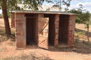The Water Project: Kwa Kyelu Primary School -  Latrines