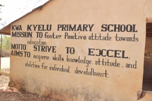 The Water Project: Kwa Kyelu Primary School -  School Mission And Motto