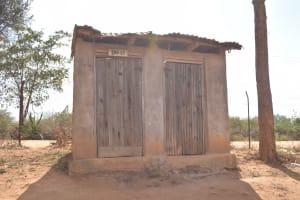 The Water Project: Kwa Kyelu Primary School -  Staff Latrines
