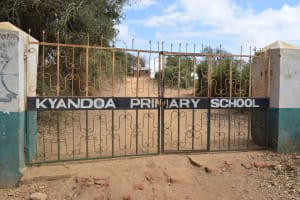 The Water Project: Kyandoa Primary School -  School Gate