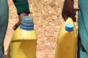 The Water Project: Kyandoa Primary School -  Water Containers
