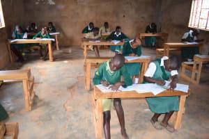 The Water Project: AIC Mbao Primary School -  Classwork