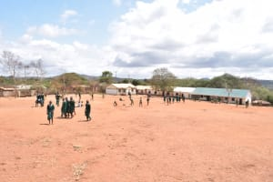 The Water Project: AIC Mbao Primary School -  View Of The School