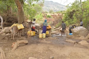 The Water Project: Kithoni Primary School -  Water Source