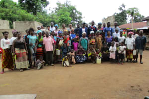 The Water Project: Lungi Town, 112 Alimamy Seray Modu Road -  Some Of The Training Participants Gather For A Photo