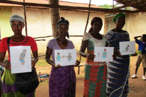 The Water Project: Lungi Town, 112 Alimamy Seray Modu Road -  Training Participation