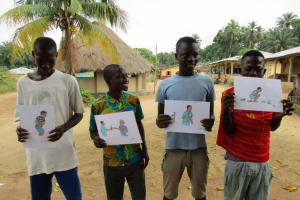 The Water Project: Mapitheri, Port Loko Road -  Demonstration