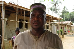 The Water Project: Mapitheri, Port Loko Road -  Pa Alimamy Koroma