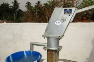 The Water Project: Mapitheri, Port Loko Road -  The Well