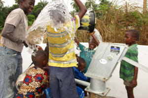 The Water Project: Mapitheri, Port Loko Road -  Excited For Reliable Water