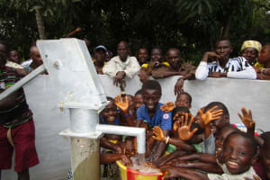 The Water Project: Mondor Community -  Children Play In The Well
