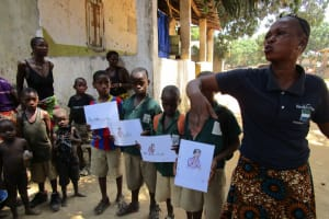 The Water Project: Mondor Community -  Students Participate In Demonstration