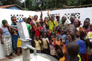 The Water Project: Moniya Community -  Community Celebration At The Well