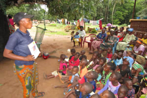 The Water Project: Moniya Community -  Listening During Training Session