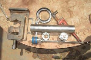 The Water Project: Moniya Community -  New Pump Parts