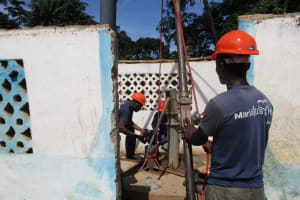 The Water Project: Moniya Community -  Preparing Rehab
