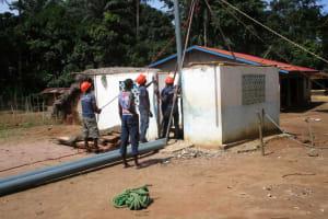 The Water Project: Moniya Community -  Rehab Work Site