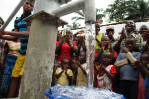 The Water Project: Moniya Community -  Reliable Water