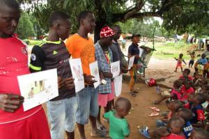 The Water Project: Moniya Community -  Visual Demonstration During Training