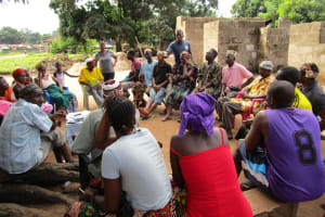The Water Project: Lungi Town, 112 Alimamy Seray Modu Road -  Ongoing Training Session