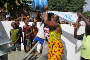 The Water Project: Lungi Town, 112 Alimamy Seray Modu Road -  Reliable Water