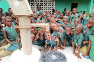 The Water Project: Kamasando DEC Primary School -  Smiles For Reliable Water