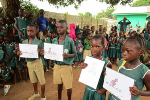 The Water Project: Kamasando DEC Primary School -  Students Participate In Training