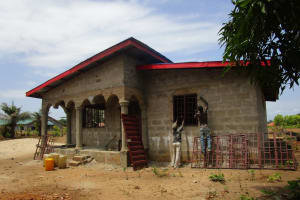 The Water Project: Tholmossor, Amputee Camp -  Building A New Home