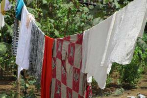 The Water Project: Kasongha, 8 BB Kamara Street -  Clothes Drying
