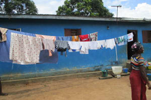 The Water Project: Lungi, Suctarr, 10 Khalil Lane -  Clothesline