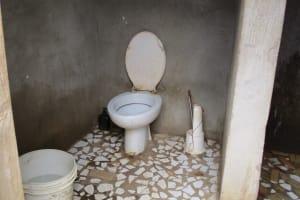 The Water Project: Kasongha, 8 BB Kamara Street -  Latrine Inside