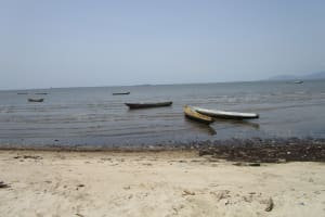 The Water Project: Targrin Health Post -  Fishing Boats