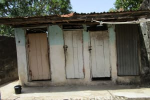 The Water Project: Targrin Health Post -  Latrines At The Clinic