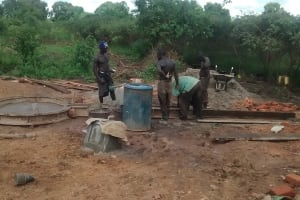 The Water Project: Hamis Water Source Pakanyi Community -  Construction