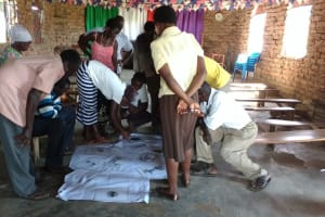 The Water Project: Alimugonza Community A -  Community Mapping