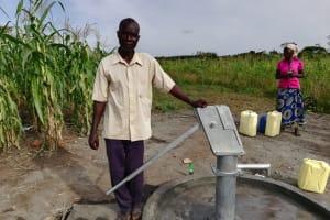 The Water Project: Alimugonza Community A -  John Mugoya The Vice Chairperson Wsc