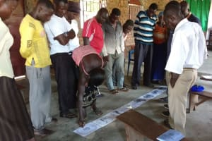 The Water Project: Alimugonza Community A -  Training Activity