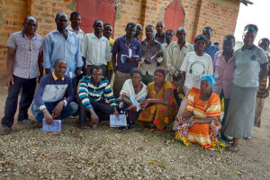 The Water Project: Alimugonza Community A -  Training Participants