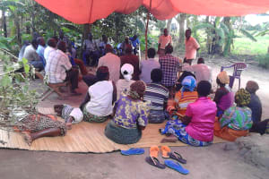 The Water Project: Alimugonza Community A -  Training Session