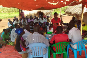 The Water Project: Katugo Community -  People At Training