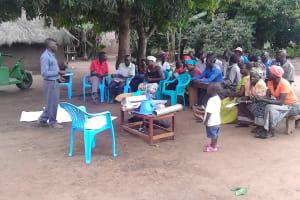 The Water Project: Kyamudikya Community A -  Community Training