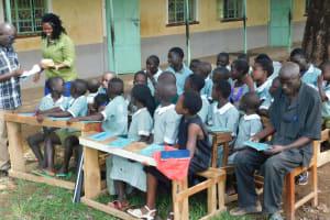 The Water Project: Eshisenye Primary School -  Training
