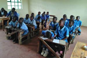 The Water Project: Shivanga Primary School -  Training
