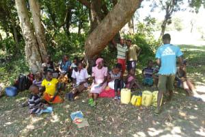 The Water Project: Lunyi Community, Fedha Mukhwana Spring -  Training