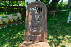 The Water Project: Koloch Community, Solomon Pendi Spring -  Cool Chair Brought To Training