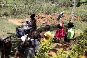 The Water Project: Shitoto Community, Mashirobe Spring -  Training