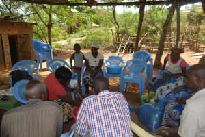 The Water Project: Kithumba Community C -  Training